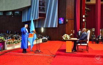 RDC : Les nouveaux juges de la cour constitutionnelle ont prêté serment