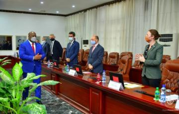 Le président Tshisekedi s'est entretenu avec des diplomates sur la situation sécuritaire à l'Est