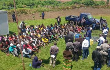 Insécurité à Goma : 46 présumés criminels ont été arrêtés lors d'un bouclage systématique à Bujovu
