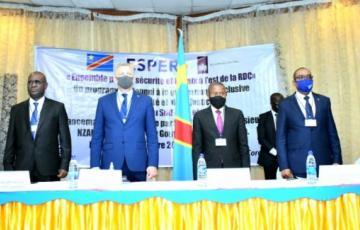 A Goma, lancement officiel du programme Ensemble pour la Sécurité et la Paix à l'Est de la RDC