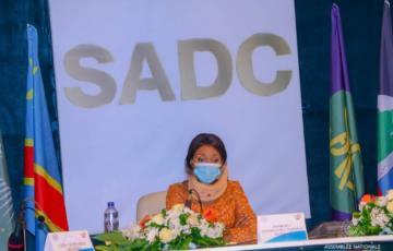 Menacée de destitution, Jeanine Mabunda est élue présidente du forum parlementaire de la SADC