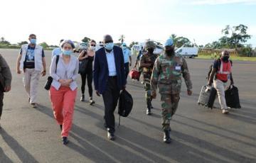 Nord-Kivu : Après Butembo, le représentant adjoint du secrétaire de l'ONU en RDC est arrivé à Beni
