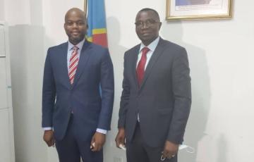 En séjour en RDC, le Secrétaire général de la ZLECAF a rencontré le ministre de l'industrie